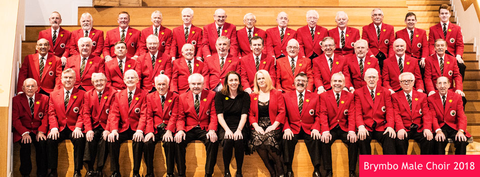 Brymbo Male Choir 2018