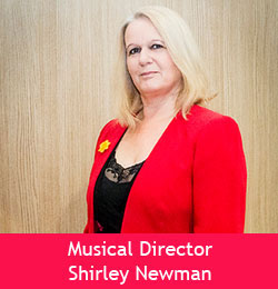 Musical Director Shirley Newman